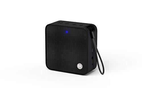Motorola Sonic Boost210 - Wireless Bluetooth Lautsprecher - 3,5mm AUX, für Smartphone/Tablet/MP3 geräten - Mikrofon für Anrufe/Amazon Alexa/Siri/Google Assistant - Schwarz (Motorola Mobile Computer)