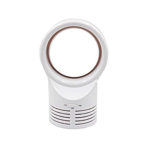 Unbekannt Blatt-Ventilator-Negative Ionen-Miniklimaanlage-Elektrischer Schlaf-Kühler Komfort,White
