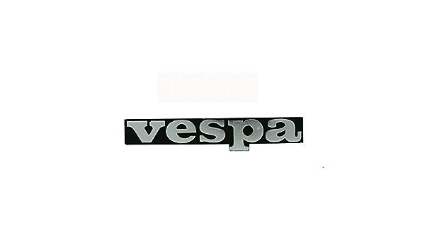 /125 Vespa Lettering Black for Leg en Badge Emblem Vespa PK 50/