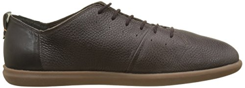 Geox U New Do B, Baskets Basses Pour Hommes Marron (dk Coffee)