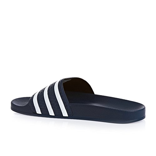 adidas Adilette Scarpe da Spiaggia e Piscina Unisex – Adulto Blu (Navy/White)