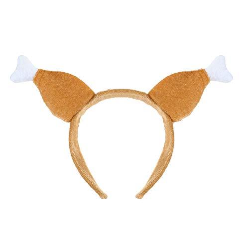 Rrunzfon Thanksgiving Turkey Stirnband Ostern Plüsch Geröstete Türkei Beine Trommelstock Hut Frauen Kinder Ferien - Frauen Türkei Kostüm