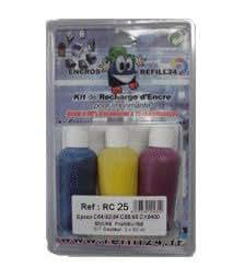 KIT ENCRE-kit EC26, 5 flacons haute qualité encre pigmentée Epson -ENCROS