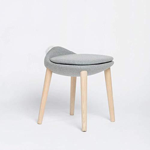 Metall-eitelkeit-bank (XHHWJJ Eitelkeit Moderne Sitzfläche Make-up Dressing Hocker gepolsterte Bank mit Gummibeinen, einfache Montage (Style : A))