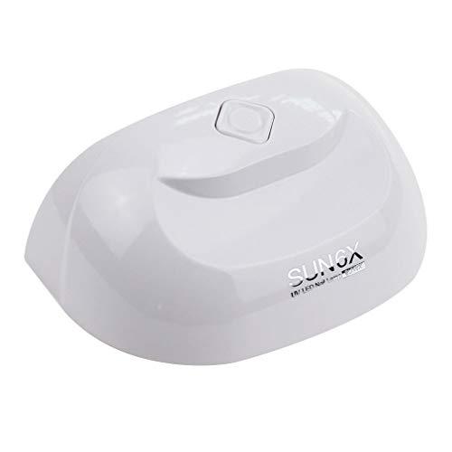 YTDDD Mini-praktisches UV/LED-Nagellicht, Nageltrockner, Nagelgel-Aushärtungslicht, intelligenter Sensor, USB-Schnittstelle, Keine Schwarze Hand, schnell trocknend