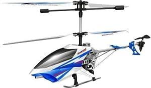 Auldeytoys yw858402Sky Rover Radio Gra peces bestuurbare Helicopter exploiter S, Child de unisex, Verde