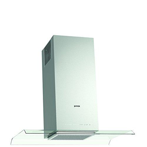 Gorenje IHGC 963 S4X Insel-Dunstabzugshaube/66,1 kWh/jahr/90 cm/SmartCurve//LED Beleuchtung/Dimmerfunktion/edelstahl