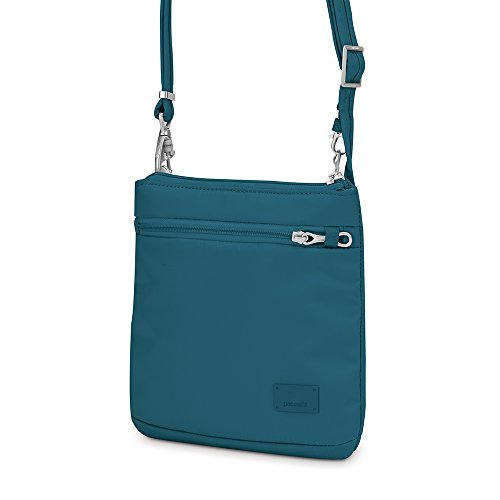 Nylon Pacsafe CS50Umhängetasche blaugrün Blau Citysafe qxwBpOgxz