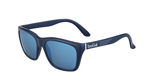 bollé Erwachsene 527 Sonnenbrille, Navy Silver, Medium