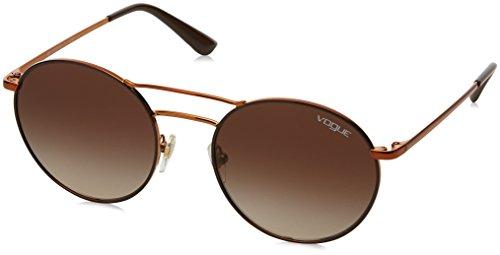 Vogue Eyewear Damen 0VO4061S 502113 52 Sonnenbrille, Braun (Copper/Brown/Browngradient),