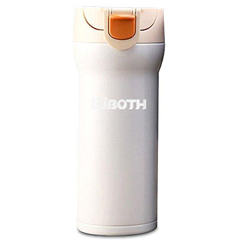 EJBOTH 350ML Termo Botella Taza Viajes, Botellas de Agua Copa de Acero...