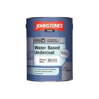 Johnstone's Trade Aqua Water Based Undercoat Ivory Spray 1L specially tinted colour by avenue coatings