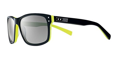Nike Herren Vintage 80 EV0632 007 58 Sonnenbrille, Schwarz (Black/Volt)