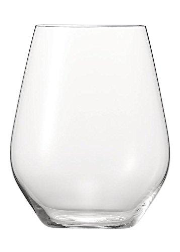 Nachtmann Spiegelau, 6-Teiliges Universalbecher-Set, Kristallglas, Authentis Casual, 4800191