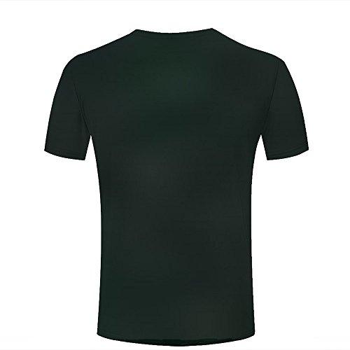 3d Print T Shirts Wet Leaves Graphics Men Women Couple Fashion Tees A