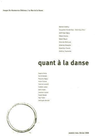 Quant à la danse, N° 3 :