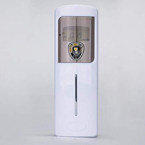 LCD Bildschirm Aerosol Luftauffrischung Luft reinigen Duft Duftautomat Automatische Timer Aroma Spray Wand Luftauffrischung für Home Office Schlafzimmer Badezimmer Rest Room Cafe Restaurant