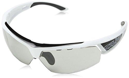 Salice 005CRXB Fahrrad Brille, Farbe Einheitsgröße Weiß/Schwarz