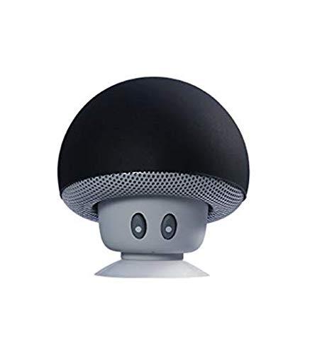 ¡ Lleva tu música a donde vayas ! Altavoz inalámbrico que funciona a través de bluetooth con cualquiera de sus dispositivos, con forma de una divertida seta redonda. Además, tiene una ventosa con la que podrás colocarlo en cualquier superficie o en l...