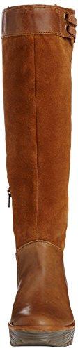 FLY London Yafe, Hautes bottes fourrées homme Marron - Brown (Camel/Camel)