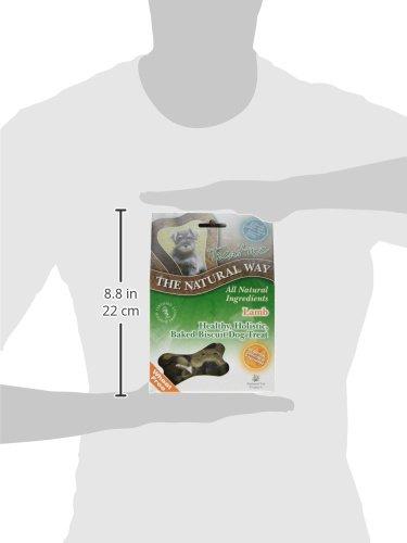 Natural Way Lamb Dog Biscuits, Small Bone Natural Treats 300 g (Pack of 5) 7