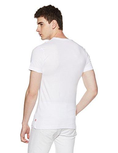 Jockey Men's Regular Fit T-Shirt (US34_White_Medium)