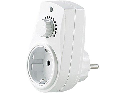 Dimmer regolatore di potenza intensita\' luce 230v con presa spina di corrente