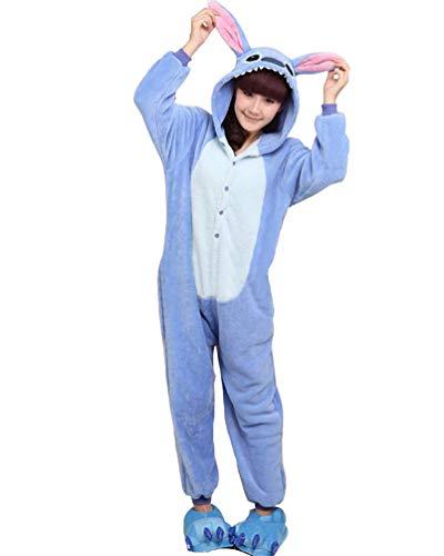 SMITHROAD Damen Kapuzenpullover Hoodie Sweatshirt Leopard Zip Verdicken, Blau, DE XS (Hersteller Größe ()
