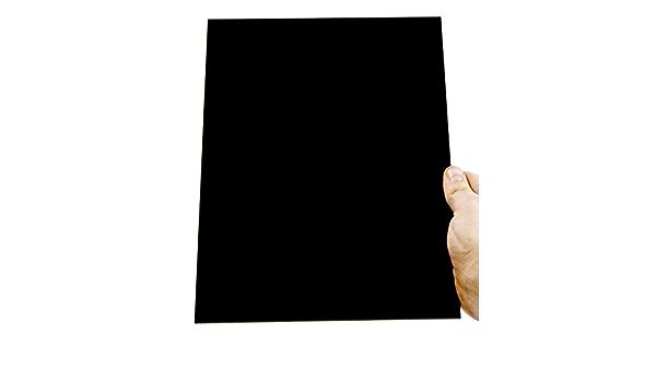 Plexiglas/® 44 cm Durchmesser Kreiszuschnitt aus Acryl 3mm XT schwarz