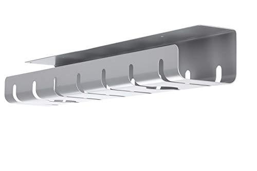 ROLINE 17031302 Kabelkanal, Untertischmontage Silber