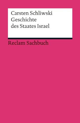 Geschichte des Staates Israel (Reclams Universal-Bibliothek)
