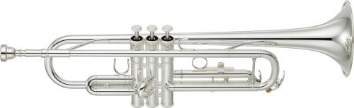 Yamaha YTR de 3335S trompeta y corneta BB