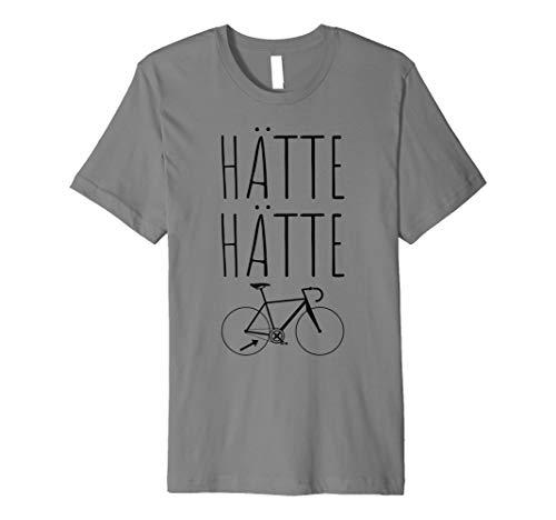 Hätte Hätte Fahrradkette T-Shirt | Radfahrer Spruch gebraucht kaufen  Wird an jeden Ort in Deutschland