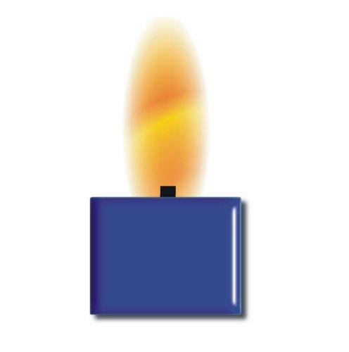 TrendLight 890026 Wachsfarbe für 1kg Wachs, Qualitätsfarbe zum Kerzenwachs einfärben, blau