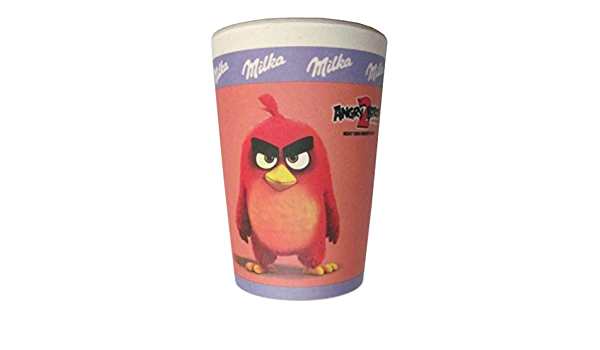 Milka - Motiv Silver 0,2 l Bambusbecher zum Film Angry 2 Birds
