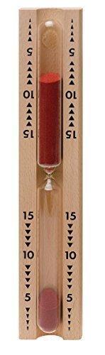 Sauna Sanduhr Spezial roter Sand