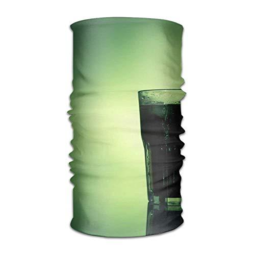 Rghkjlp Copricapo Copricapo Green Art Cocktail Head Wrap Sweatband Sport Foulard per Uomo Donna Fashion10