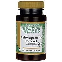 Swanson Ashwagandha Extract 450mg, 60 Capsules preisvergleich bei billige-tabletten.eu