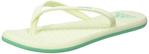adidas Damen Eezay Soft Dusch-& Badeschuhe, Grün (Hi-reset Green/Hi-reset Green/Aero Green 0), 37 EU (4 UK)