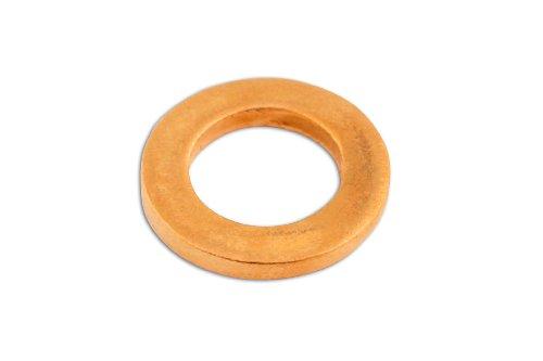 Connect 31825 Kupfer-Dichtungsring, 5 x 9 x 1mm (Heat Tool Sealing)