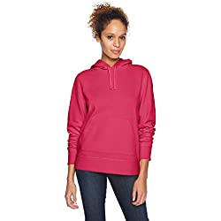 Amazon Essentials Wae50016fl18 Sweat-Shirt À Capuche, Rose (Dark Pink), US S (EU S - M) S (EU S-M)