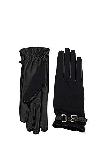 1G1226NERO Prada Gants Femme Nylon Noir Noir