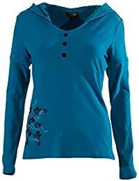 Coline - Tee shirt femme à capuche