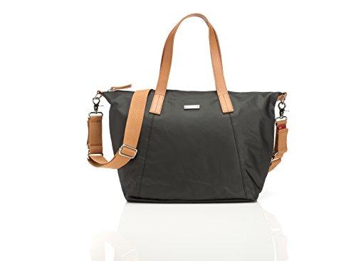 Preisvergleich Produktbild Storksak Wickeltasche Noa in Schwarz inkl. Mini Organiser Bag
