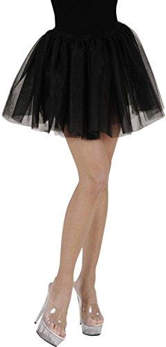 Widmann 1748B - Erwachsenen Tutu, schwarz, (Ideen Erwachsene Ballerina Kostüm Für)