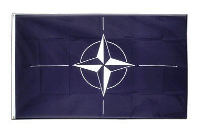 NATO Flagge, nordatlantische Fahne 90 x 150 cm, MaxFlags®