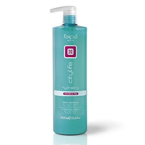 FAIPA cITYLIFE Hydrating Crème Hydratant Huile d'Argan pour Cheveux secs 1000 ML
