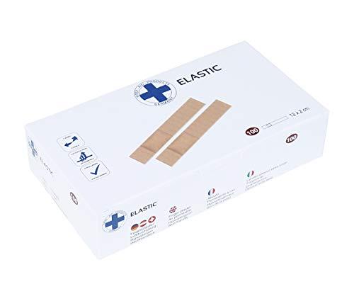 Premium Wundpflaster Pflasterverband hypoallergen verschiedene Sets 50-100 Stück (620302 Fingerpflaster Elastic 12x2cm VE: 100 Stück)