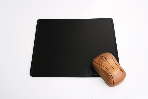IMTC Leder Mousepad schwarz