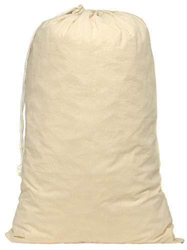 Aura Essential Oils 6ER-Pack Kordelzugbeutel aus natürlicher Fairtrade-Baumwolle Größe: 50 x 75 cm (XL) -